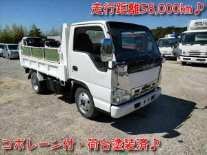 いすゞ エルフトラック 4.8ディーゼル 強化ダンプ 5MT