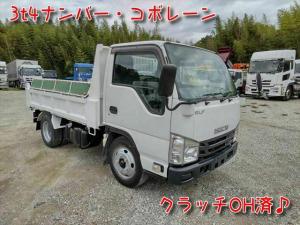 いすゞ エルフトラック 3.0ディーゼルターボ 強化ダンプ 6MT クラッチOH済