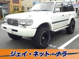 トヨタ ランドクルーザー80 VX リフトアップ サンルーフ アルミホイール