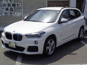 BMW X1 sDrive 18i Mスポーツ 1オーナー 衝突軽減ブレーキ 歩行者警報 バックカメラ