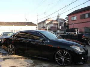 トヨタ クラウン 2.5アスリート ナビパッケージ 20AW 車高調 LEDテール フルセグTV DVD
