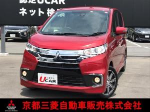三菱 eKカスタム Tセーフティパッケージ ドラレコ ETC ワンオーナー車