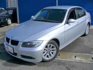 BMW 3シリーズ 320i 当店下取り車両・エクリプスインダッシュHDDナビ・バックカメラ・ミュージックサーバー・DVD再生・ETC・禁煙車・純正HIDヘッドライト・エンジェルアイ・フォグ・純正アルミ・ドアバイザー