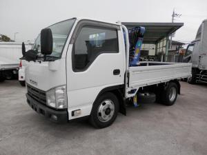 いすゞ エルフトラック  10尺 簡易クレーン(ZR223)