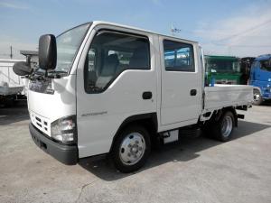 いすゞ エルフトラック  Wキャブ 簡易クレーン付き No.C022