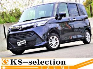 トヨタ タンク X S 禁煙車 SDナビ バックカメラモニター Bluetooth接続可能 片側電動スライドドア ETC ステアリングスイッチ オートライト オートエアコン 電格ミラー