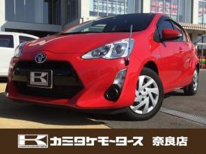 トヨタ アクア G ユーザー下取車 キーフリー バックカメラ ABS