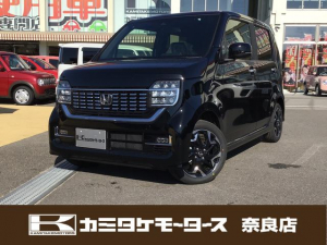 ホンダ N-WGNカスタム L・ターボホンダセンシング 軽自動車・キーフリー・純正アルミホイール
