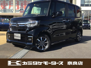 ホンダ N-BOXカスタム L 軽自動車・キーフリー・片側電動スライドドア