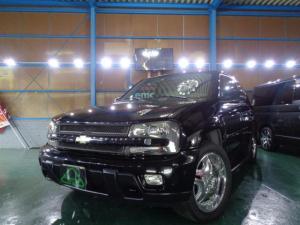 シボレートレイルブレイザー LTZ サンルーフ装着車4WD 社外AW20 HIDライト 革シート ETC 純正HDDナビ タイミングチェーン