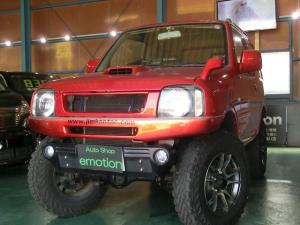 スズキ ジムニー XC インタークーラーターボ パートタイム4WD ETC HDDナビ 社外マフラー レカロシート