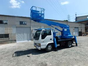 いすゞ エルフトラック 12m高所作業車アイチ製SS12A