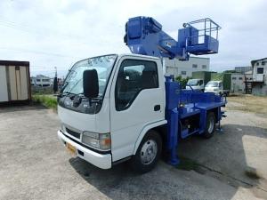 いすゞ エルフトラック 12m高所作業車 タダノAT-121TG