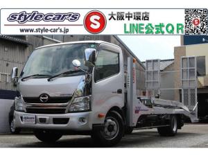 日野 デュトロ  2台積み積載車 スーパーツインキャリアNEO 追加フック メッキパーツ 小物入れカゴ追加