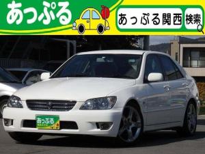 トヨタ アルテッツァ RS200 リミテッドII HDDナビ ローダウン マフラー