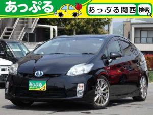 トヨタ プリウス S 社外18AW ローダウン ビルトインETC スマートキー