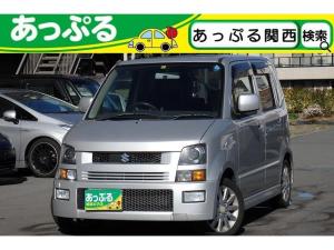 スズキ ワゴンR RR-DI ワンオーナー車 禁煙車 買取仕入車 HIDライト 純正エアロ 純正AW CD MD