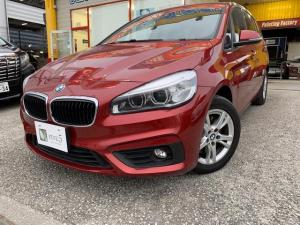 BMW 2シリーズ 218iグランツアラー ナビ バックカメラ AW 7名乗り AC オーディオ付 電動リアゲート AT