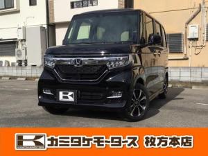 ホンダ N-BOXカスタム G・Lホンダセンシング アイドリングストップ ETC シートヒーター バックカメラ