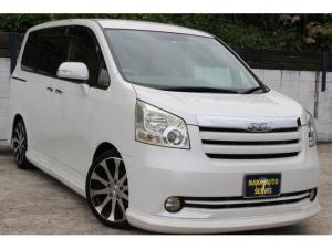 トヨタ ノア X スマートエディション両側電動 車高調 エアロ 18インチ
