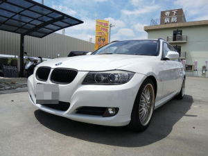 BMW 3シリーズ 320iツーリング 後期モデル 社外18アルミ 黒革シート 純正ナビ バックカメラ ETC Dレコ スマートキー キセノン