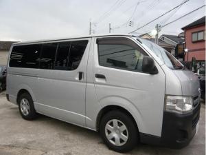 トヨタ レジアスエースバン ロングDX SDナビ テレビ ユーザー買取車 3型 低床
