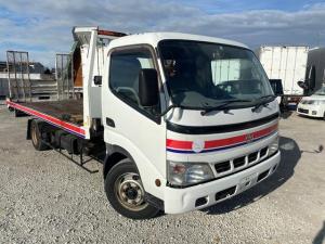 トヨタ ダイナトラック  積載車 ETC バックカメラ 社外SDナビ 積載量2900kg 6速MT スライドローダー