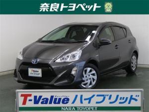 トヨタ アクア S アイドリングストップ メモリーナビ ワンオーナー ETC