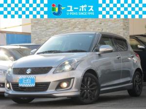 スズキ スイフト RS 1オーナー・禁煙車・HID・ナビ・TV・Rカメラ