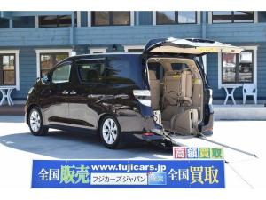 トヨタ ヴェルファイア 福祉車両 スロープ 車椅子1基 電動ウインチ 両側パワスラ