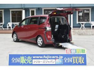 トヨタ シエンタ X スマートキー ETC 後退防止ベルト 車椅子電動固定装置 ニールダウン パワースライドドア アイドリングストップ プッシュスタート