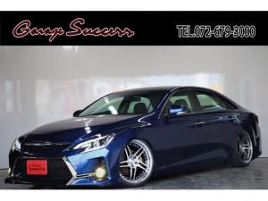 トヨタ マークX 250G G's仕様/新品BRASH19AW/新品タイヤ/新品フルタップ式TEIN車高調/新品カラーアイヘッドライト/イカリング/新品スモークテール/LEDフォグ/ETC
