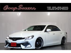 トヨタ マークX 250G 新品モデリスタハーフエアロ/新品WORKグノーシス19AW/新品タイヤ/新品BRASH車高調/クルコン/ETC/Bluetooth/ハンズフリー/
