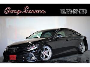 トヨタ マークX 250G リラックスセレクション RDS仕様/新品WORKジースト19AW/新品タイヤ/新品フルタップ式TEIN車高調/新品モデリスタハーフエアロ/新品カラーアイヘッドライト/新品社外テールランプ/ETC/Bluetooth