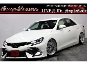 トヨタ マークX 250G 新品モデリスタ/新品SSR19AW/新品タイヤ/新品フルタップ式TEIN車高調/ETC/バックカメラ/クルーズコントロール