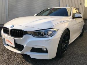 BMW 3シリーズ 320dツーリング Mスポーツ純正HDDナビTV ローダウン