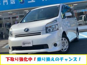 トヨタ ヴォクシー X Lエディション 左側パワースライドドア 社外SDナビ HIDヘッドライト ウインカーミラー