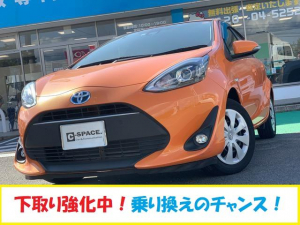 トヨタ アクア S 純正SDナビ フルセグTV Bluetooth DVD再生 バックカメラ LEDヘッドライト フロントフォグ トヨタセーフティセンス スマートキー ETC