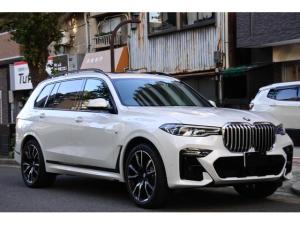 BMW X7 xDrive 35d Mスポーツ ワンオーナー 6名乗車 純正22インチアルミホイール ACC 360°カメラ パノラマルーフ ルーフレール ヒートシーター シートエアコン メモリ付きパワーシート 純正ナビ フルセグTV