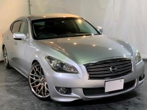 日産 フーガ 370GT タイプS 新品車高調 新20AW 黒革 純正ナビ