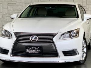 レクサス LS 新品取付モデリスタエアロ/LEDフォグ/ETC2.0/禁煙車