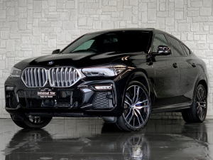 BMW X6 xDrive 35d Mスポーツ 正規ディーラー車/純正OP22インチAW/純正OPクリスタルシフトノブ/冷温ドリンクホルダー/黒本革/ガラスサンルーフ/360度パノラマカメラ/アダプティブクルーズコントロール/電動バックドア/ETC