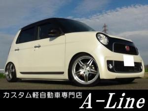 ホンダ N-ONE プレミアムツアラーLターボ オリジナルツートン車高調TVナビ
