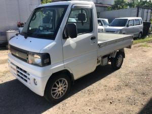 三菱 ミニキャブトラック ベースグレード 3方開 エアコン パワステ付 AT車