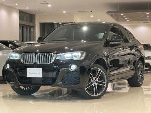 BMW X4 xDrive 28i Mスポーツ ワンオーナー・純正AW20インチ・純正ナビ・TV・Bカメ・360度カメラ・アダクティブクルーズコントロール・シートヒーター・レザーシート・ブラインドスポット・パドルシフト・