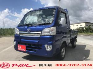 ダイハツ ハイゼットトラック ジャンボ 5速マニュアル・純正ナビTV・ETC・キーレス・フォグランプ付