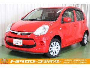 トヨタ パッソ X Lパッケージ・キリリ ベンチシート・ETC・スマートキー