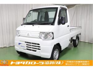 三菱 ミニキャブトラック VX-SE 4WD AT エアコン・パワステ機能搭載車