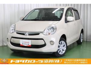 トヨタ パッソ X Lパッケージ・キリリ ベンチシート メモリーナビ