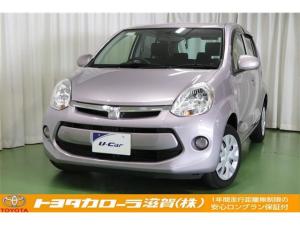 トヨタ パッソ X Lパッケージ・キリリ メモリーナビ ベンチシート
